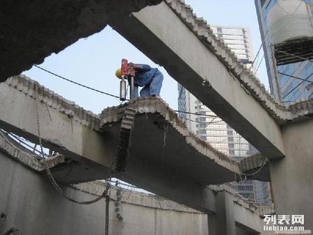 唐山房屋改造拆除墙体楼板拆除建筑物拆除