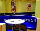 深圳餐饮家具订做卡座沙发 软包沙发板式沙发 多多乐