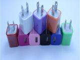 绿点充电器 手机USB充电器 充电头移动专业充电器 厂家批发