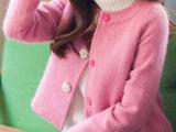 2014秋冬装新款女装小香风短款羊毛呢外套 时尚呢子大衣女884