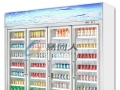 风幕柜超市水果酸奶保鲜柜鲜花柜熟食柜鲜肉柜蛋糕商用立式饮料柜