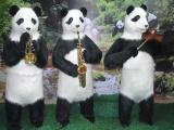熊猫展览道具租赁公司 萌宠熊猫 卡通熊猫 纸熊猫展