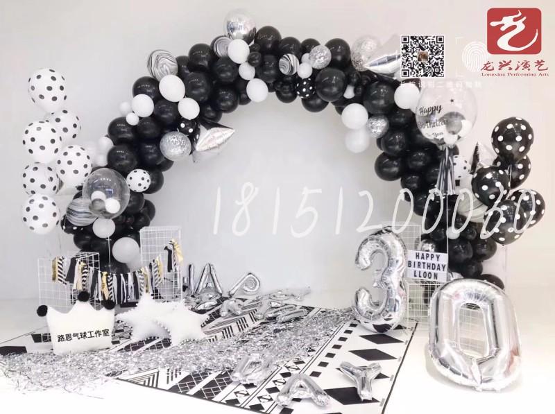 溧阳宝宝宴气球布置婚房布置儿童派对开业气球布置私人定制