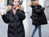 河北尾货批发市场供应韩版女装羽绒服摆摊赶集便宜冬季棉衣