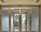 专业玻璃隔墙 办公室厂房店面 玻璃隔断 玻璃门定做