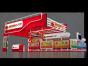 杭州展会特装布置方案,展台设计定做,上海赐恒
