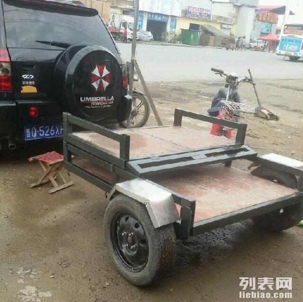 自制沙滩车小拖车