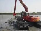 中国好产品徐工200清淤型挖掘机租赁水陆挖掘机租赁
