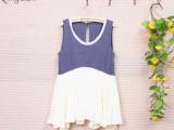 箐岚qinglan品牌日系时髦女装 夏季连衣裙厂家直供批发 代理
