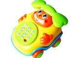 0601儿童早教益智电话带音乐奇趣电话车琴拉线电话玩具 婴幼教具