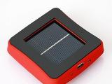 新款吸盘式太阳能移动电源、车载手机充电宝 可以定制logo