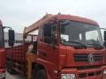 桂林那有徐工8吨12吨销售点电话 挖机平板吊车
