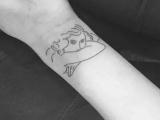 南昌纹身,纹身图库,纹身图案,小清新纹身也很招人喜欢