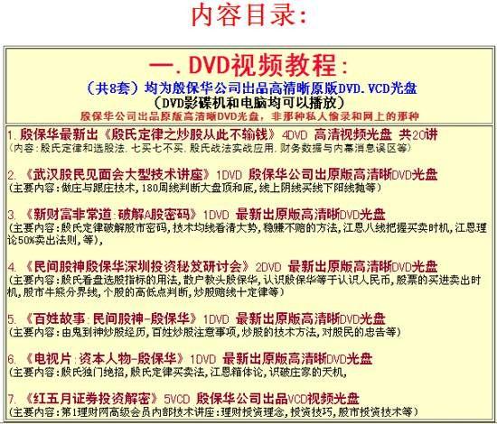 殷保华教程最新全集:13张光盘内容+1本复印资料+软件