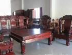 襄阳高价收购二手红木家具老酸枝木沙发餐台大红酸枝卧房家具收购