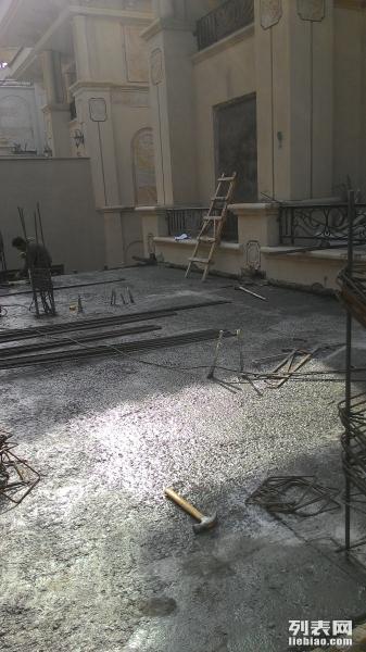 大连别墅改造 混凝土阁楼楼梯