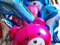 北京朝阳区氢气球卡通造型氢气球批发
