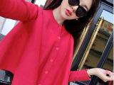 2014秋装新款韩版毛衣开衫针织衫外套宽松斗篷披肩
