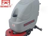 供应手推式洗地机电瓶驱动洗地吸干机