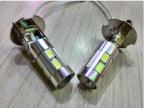 汽车LED雾灯 LED汽车前雾灯 H3车灯 10smd 5630高亮 带透镜