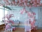 厦门气球布置,求婚场景布置