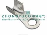 开口接线鼻子OT 500A镀锡 电缆开口接线端子T2紫铜