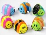 超级可爱 翻斗甲虫 上链发条甲虫玩具 80后回忆 怀旧婴儿玩具