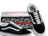 万斯正品品质vans男鞋女鞋经典款黑白条