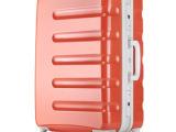 礼品商务赠品定制行李箱 拉杆箱 万向轮 旅行箱 铝框硬箱 26寸