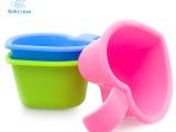婴儿小水勺 爱心沐浴洗头勺 儿童水勺塑料