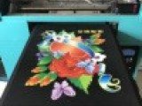 T恤数码印花机 纺织品布料打印机 个性定制图案打印机