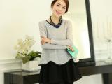 2014春季新款女装 气质韩版时尚蕾丝连衣裙打底裙 舒适清新