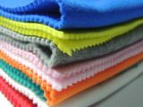 批发供应 全涤保面拉绒  优质针织绒布卫衣布 短纤拉毛毛圈布