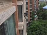 西安专业维修外墙雨水管空调管百叶窗西安专业高空作业公司