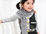 2014韩版外贸春装童装新款 男女童长袖纯棉开衫无帽外套圆点拼接