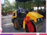 曲阜供应4吨单钢轮压路机叉脚式液压压实机