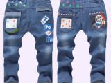 15春季新款 韩版精品男童牛仔裤 儿童长裤 中小童童装 厂家直批