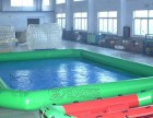 充气水乐园滑雪场晒水池充气水池移动水乐园圆形方形水池充气玩具