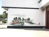 长春文化墙粉刷 喷绘广告价格 墙体广告公司