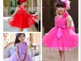 女童公主裙六一儿童演出服蓬蓬纱裙女童花童