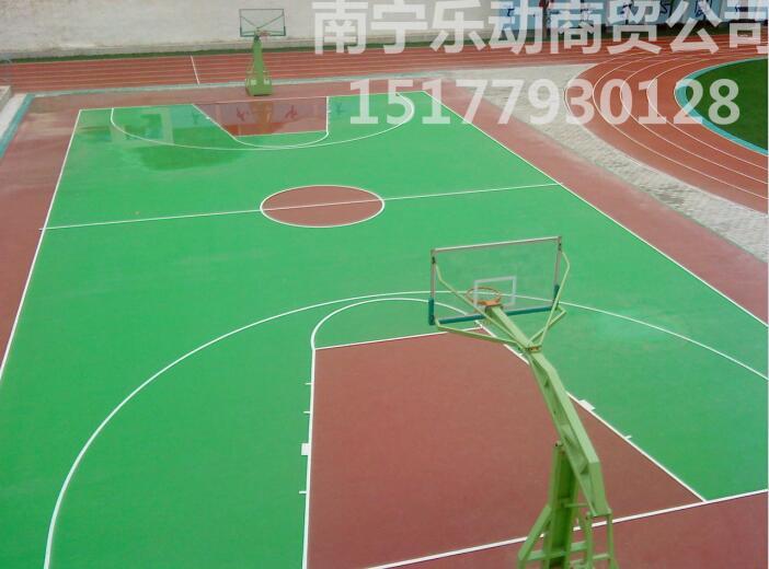 南宁球场材料批发厂家——供应南宁畅销南宁丙烯酸篮球场