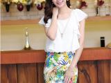 2014夏装新款印花夏季连衣裙大码女装短袖包臀雪纺裙子潮