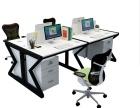 重庆现代电脑桌厂家定制学生书桌 职员老板桌办公家具书房柜