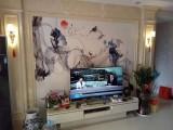 邯郸厂家定制3D电视背景墙玉雕背景墙
