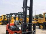 二手合力杭州叉车2吨-10吨柴油叉车夹抱叉车高门架叉车