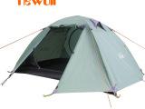 公狼帐篷 户外旅游 露营装备 双人双层 防暴雨 多人 四季野营用