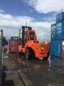 华南重工港口码头重型叉车30吨集装箱叉车价格