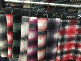 2015新款线型格纹多色粗毛纺时装服装格子毛呢面料
