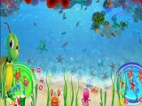 互动虚拟沙滩砸球沙桌儿童捕鱼砸球滑梯沙池儿童淘气堡