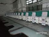 低价处理生产中的绣花机,二手剪线机,毛巾绣花机